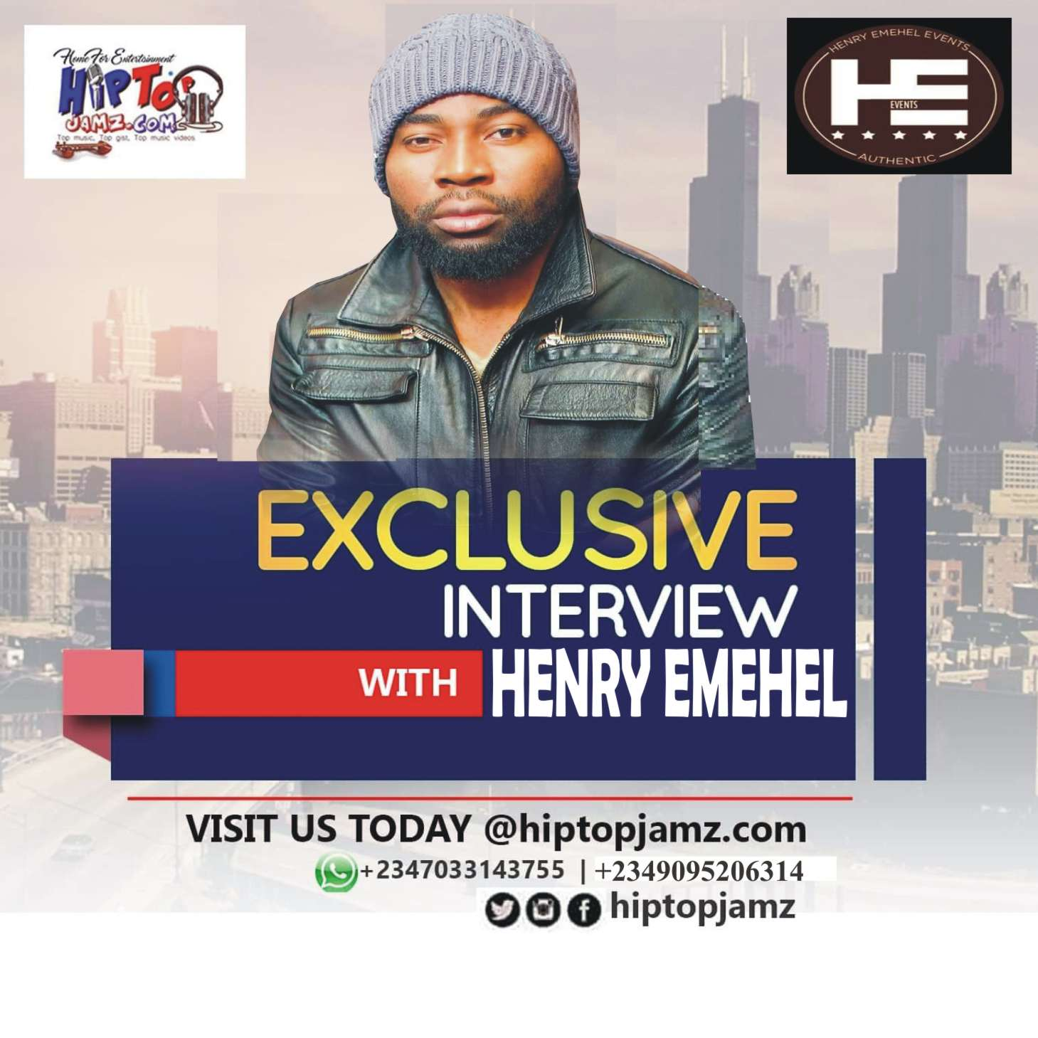 Photo of Exclusive Interview With Henry Emehel Events, Flavour's Europe Tour Manager.