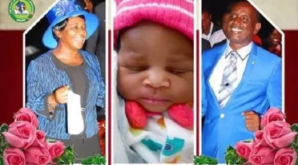 Photo of Pastor and wife welcome baby 32 years after marriage (photos)