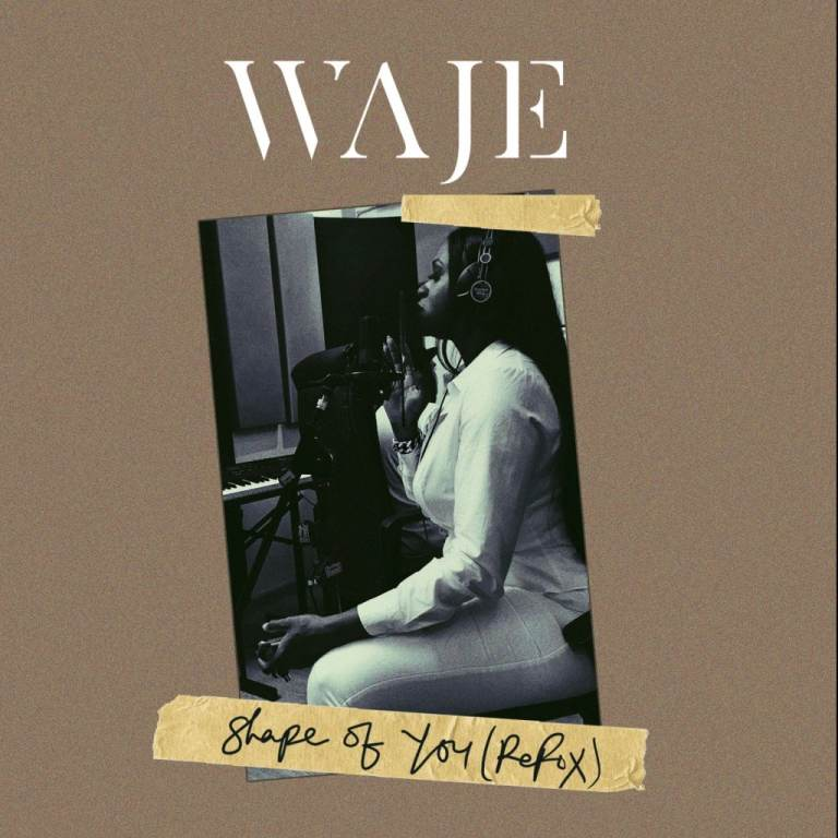 Photo of AUDIO + VIDEO: Waje – Shape Of You (Cover)