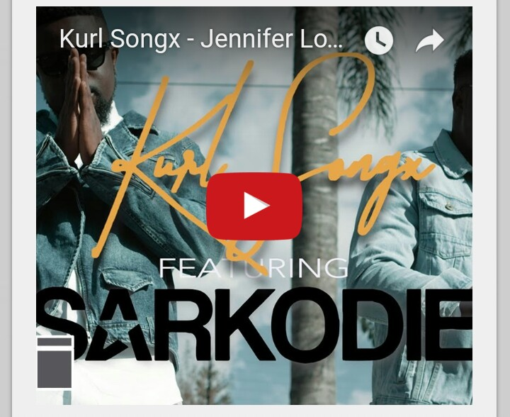 Photo of VIDEO: Kurl Songx Ft. Sarkodie – Jennifer Lomotey
