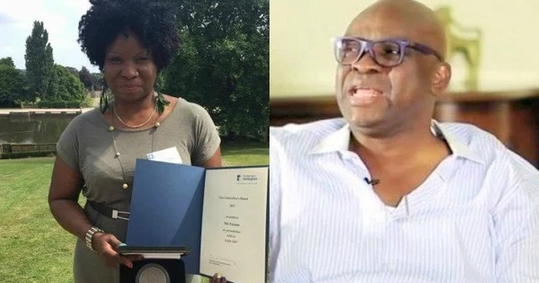 Photo of Fayose says all public officers must ensure their children school in Nigeria, but checks show he is also guilty