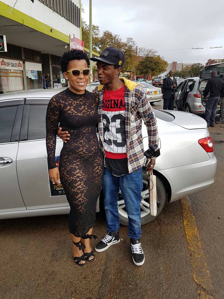 Photo of I Don't Wear Pants Even President Mugabe Knows That – South African celebrity, Zodwa Wabantu Reveals (Photos)