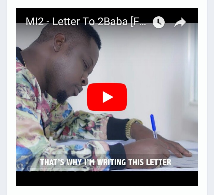 Photo of VIDEO: MI2 – Letter To 2Baba