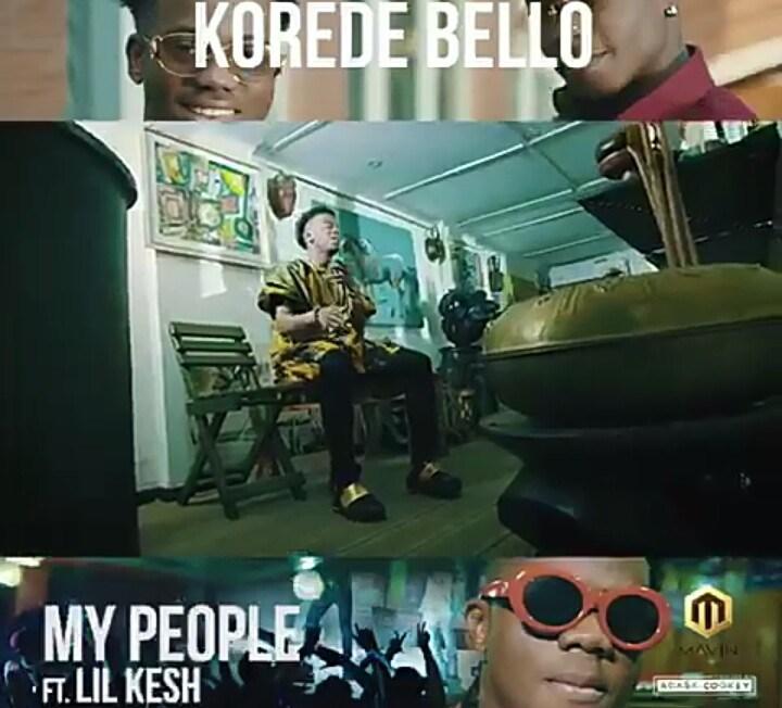 Photo of Korede Bello – My People Ft. Lil Kesh