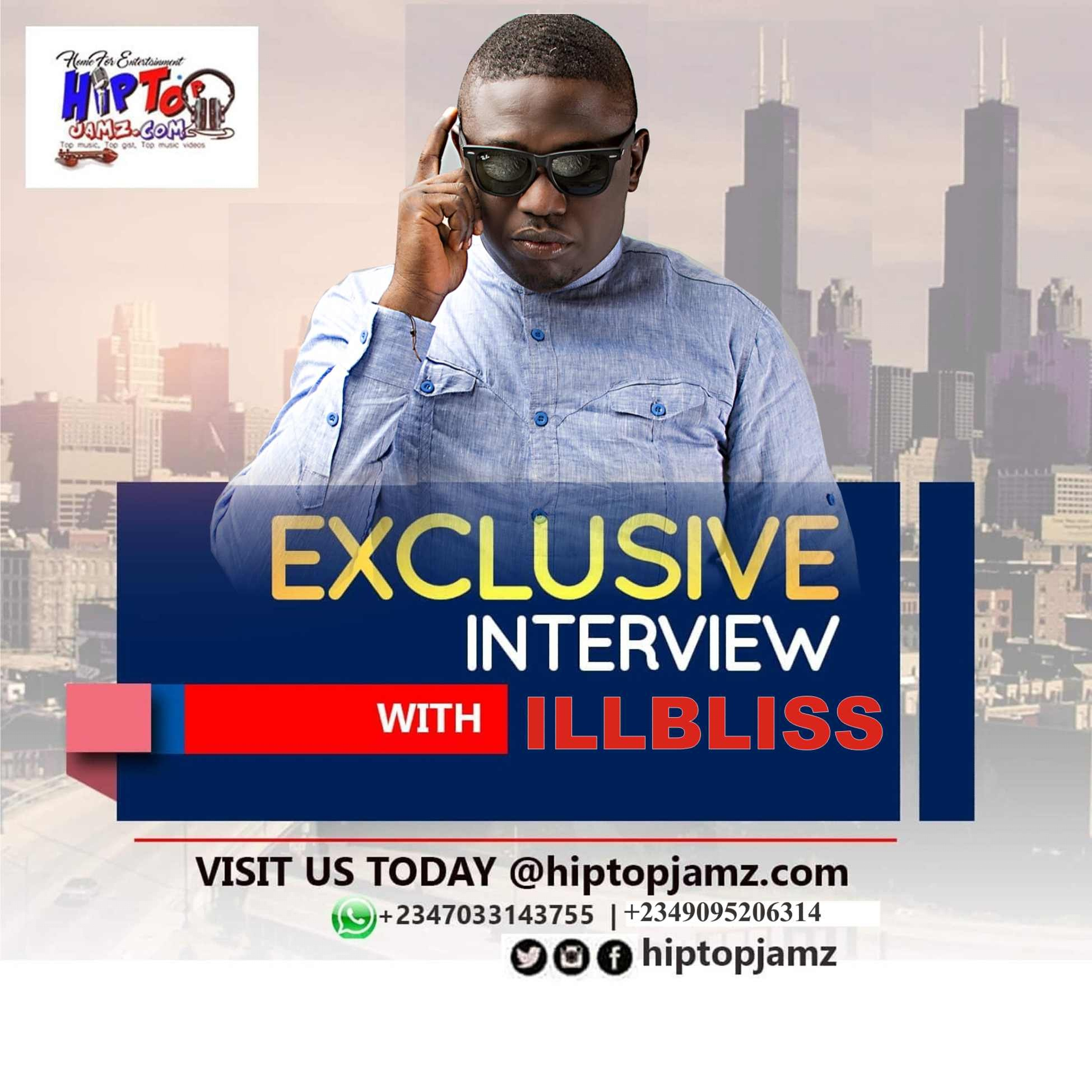 Photo of HIPTOPJAMZ EXCLUSIVE INTERVIEW WITH  ILLBLISS OGA BOSS.