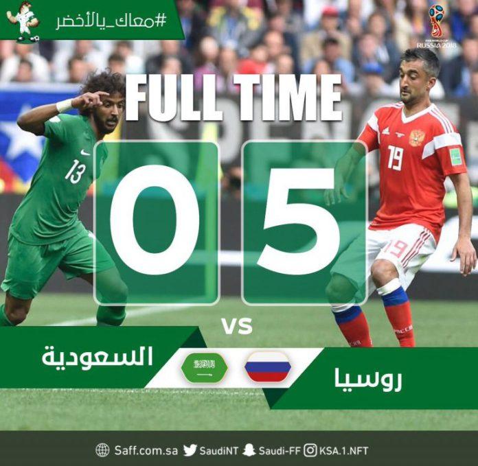 Photo of DOWNLOAD VIDEO: Russia vs Saudi Arabia 5-0 – Highlights & Goals