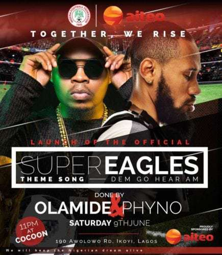 """Photo of Olamide x Phyno – Road To Russia 2018 """"Dem Go Hear Am"""""""