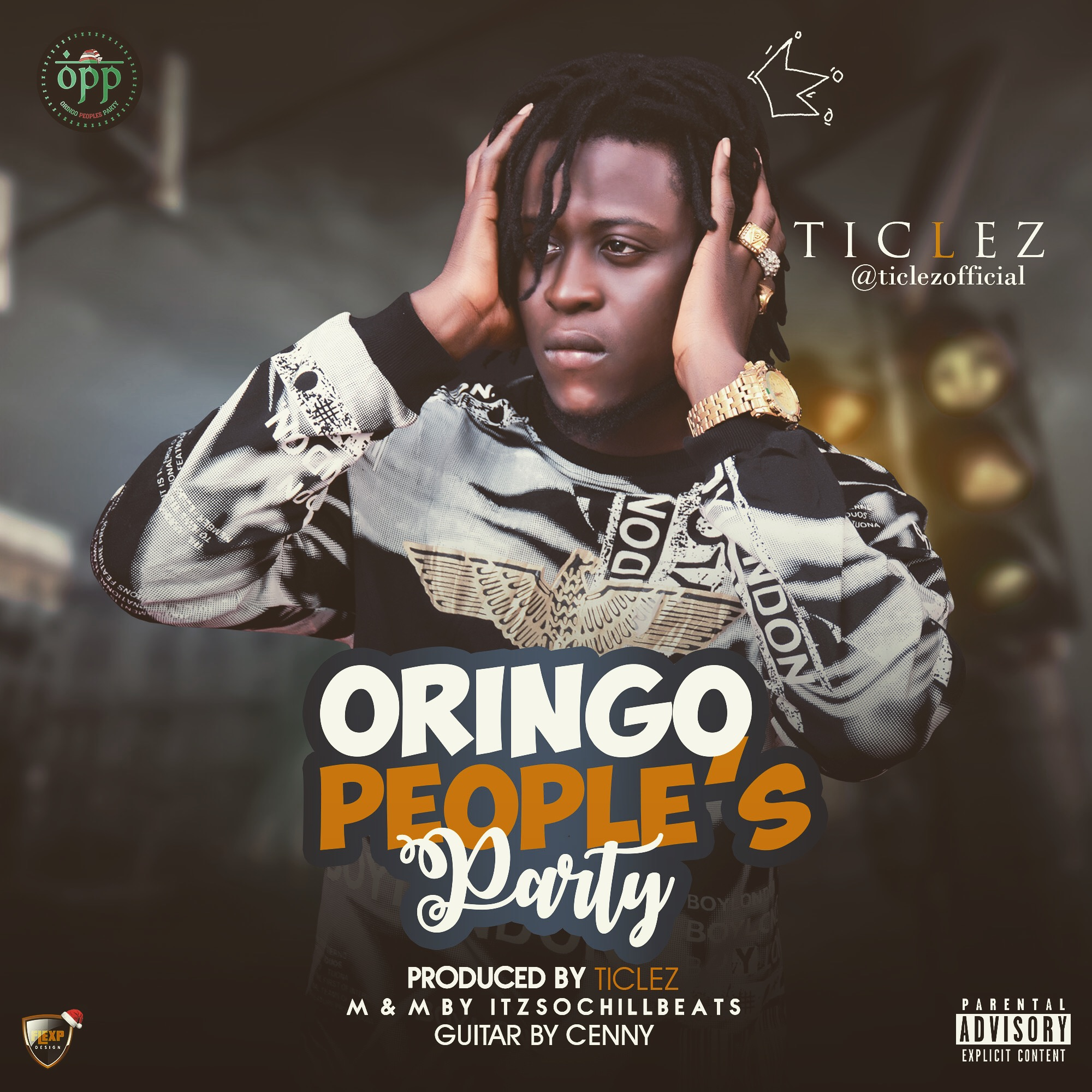 Photo of [Audio] Ticlez – Oringo People's Party Prod. By Ticlez