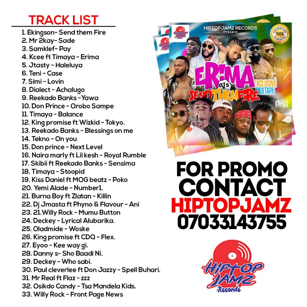 mino track list