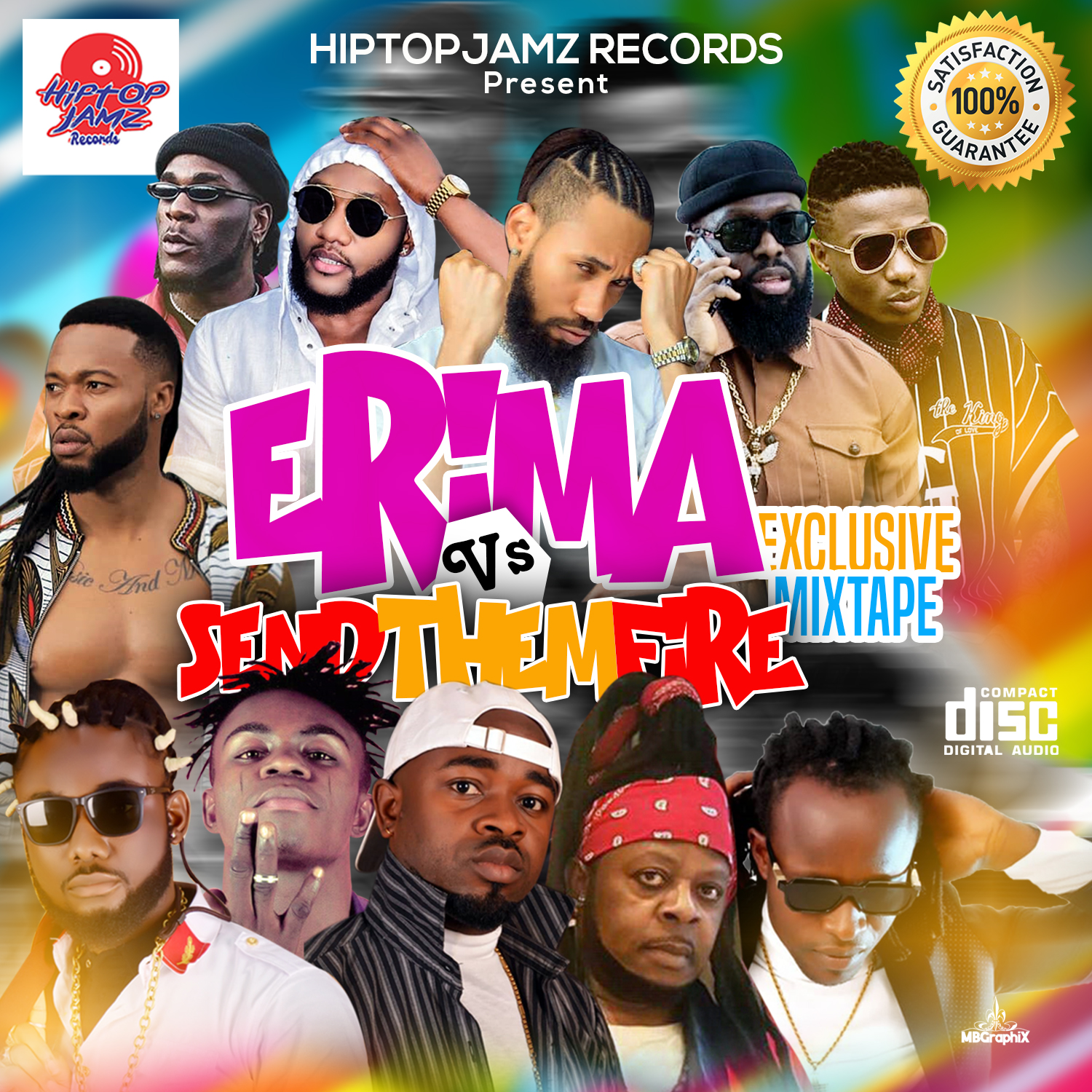 Photo of Erima vs Send Them Fire Executive Mixtape – Powered By HipTopJamz Promotions