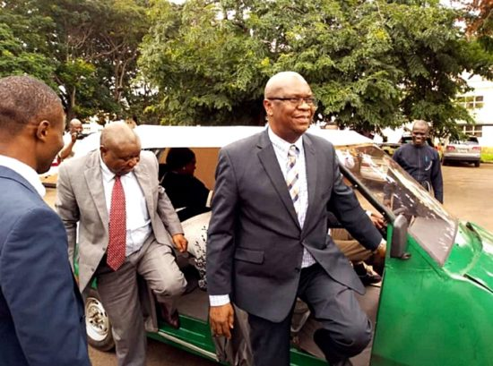Photo of Photos of The UNN's First Electric Car In Nigeria