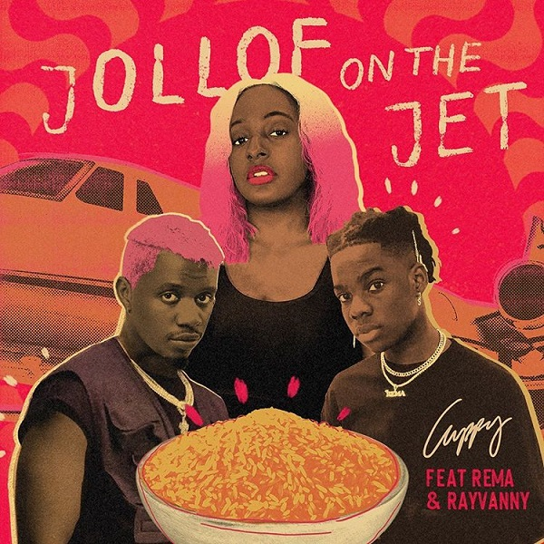 Photo of DJ Cuppy ft. Rema, Rayvanny – Jollof On The Jet