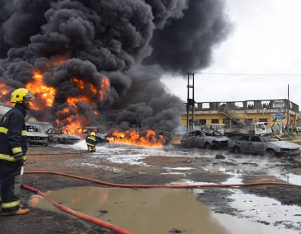 Photo of Three Dead In Another Lagos Gas Explosion
