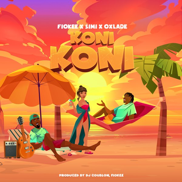 Photo of Fiokee ft. Simi, Oxlade – Koni Koni