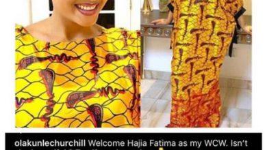 "Photo of ""Welcome Hajia Fatimah""- Tonto Dikeh's Former Husband Says As He Introduces New Girlfriend"