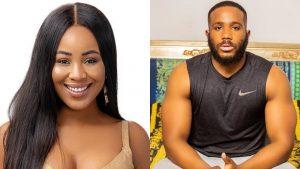 BBNaija 2020: Erica Warns Kiddwaya Against Dorathy's Breast