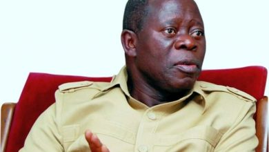 """Photo of Oshiomhole Replies DG APC Governors Forum, Says """"I Won't Fight With A Pig"""""""