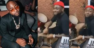 Man Calls Out Davido For Smoking Weed, Few Hours After Drumming During Praise And Worship Service