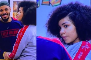 """BBNaija: """"I Need You To Be At The Finals With Me"""" – Nengi Tells Ozo"""