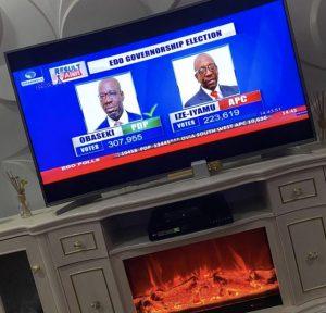 BREAKING NEWS! INEC Declares Obaseki Winner Of 2020 Edo Governorship Election