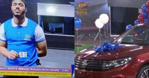 BBNaija: Ozo Beats Neo To Win Brand New 2020 Innoson Car