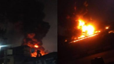 Photo of Fire Guts INEC Headquarters In Ondo