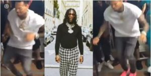 HUGE!! Chris Brown Thrills Fans As He Dances Energetically To Burna Boy's Song