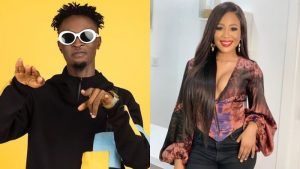 """#BBNaija: """"At What Point Did I Try To Kiss You, As Ugly And Skinny As You Are"""" – Erica Drags Laycon"""